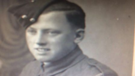 Charles Greves during the Second World War. Picture: Supplied by Malcolm Greves