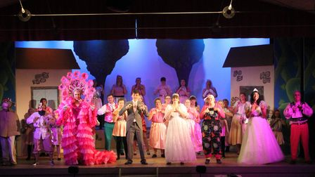 Cast of Jack and The Beanstalk. Picture: Adam Gooch