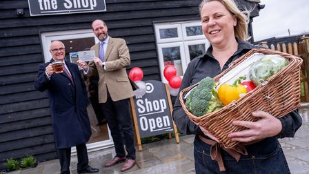 A new shop has officially opened at The Lodge Griddle & Grill in North Tuddenham, near Dereham. Pict