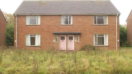 The application proposes redeveloping the former married quarters at West Raynham. Picture: Graham C
