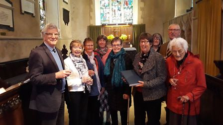 King's Lynn Church Recorders with the Stanhoe Record. Picture: All Saints, Stanhoe