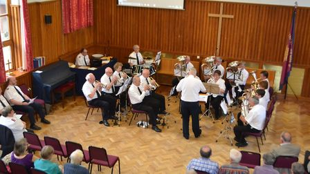 A concert was held to raise money for the Salvation Army. Picture: David Smith
