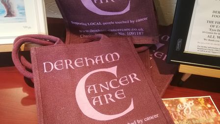 Dereham Cancer Care based in Dereham. Pictured is the charity's logo on a bag. Picture: DONNA-LOUISE
