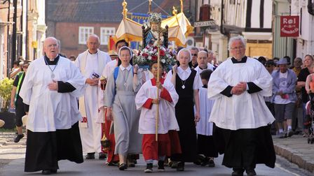 The Walsingham Pigrimage. Picture: Diocese of East Anglia