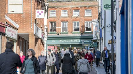 The town council hopes a new trail will increase footfall in the town centre. Picture: Matthew Usher