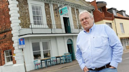 Steve Brundle, pictured in front of the Golden Fleece in 2014. Picture: Matthew Usher.