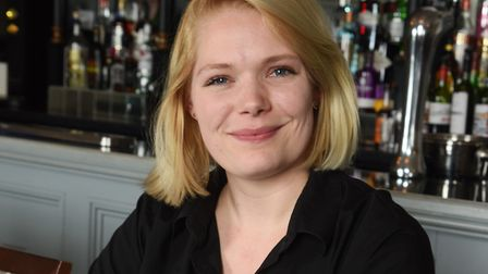 Isabelle Tabrett who has won her unfair dismissal case after being dismissed from the Golden Fleece