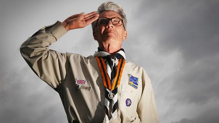 David Webster former leader of the 1st Dereham Scout Group has died aged 80. PHOTO: IAN BURT