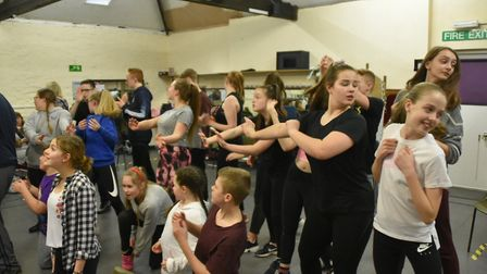 Youth group, DOSYTCo rehearsing in Dereham. Pictures: Helen Bailey