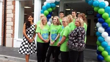 The re-opening of the The Original Factory Shop in Fakenham. Picture: Down At The Social