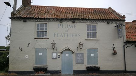 Residents of South Creake have branded the empty Plume of Feathers pub in the village 'a war zone' a