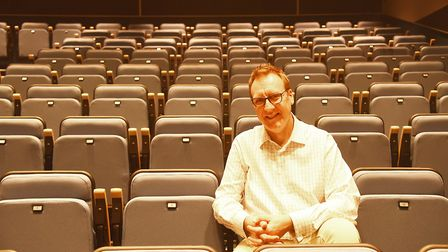 The Maltings in Wells has re-opened after a 5m regeneration work. Pictured is Director Simon Daykin.
