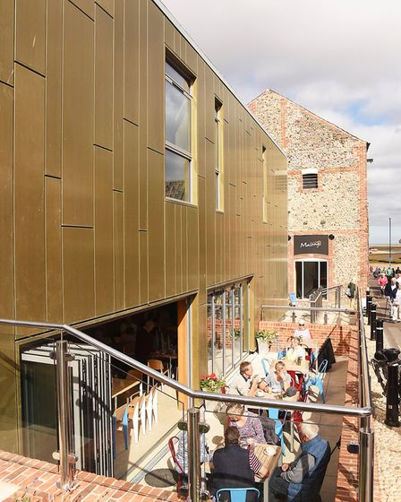 The Maltings in Wells has re-opened after a £5m regeneration work. Picture: Ian Burt