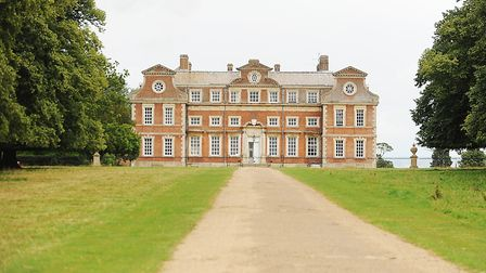 Raynham Hall, the home of the Cosmic Roots Festival. Picture: Ian Burt