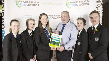 Northgate High School's council, teaching staff and the Dereham town mayor attended the Norwich and