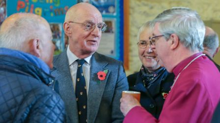 The Archbishop of Cantebury, Justin Welby, visited the Shrine of Our Lady of Walsingham on his visit