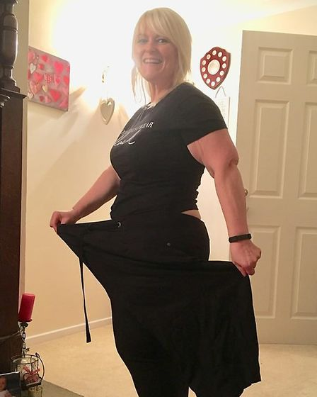 Heidi Smith after losing 7st in weight. Pictures: Hollie Webb