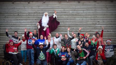 A north Norfolk Christmas market has raised more than 10,000 for charity in its 10th year. Photo: De