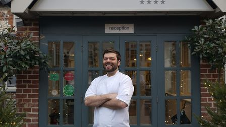 Trevor Clark is the new head chef at The Hoste. Pictures: Victoria Mason