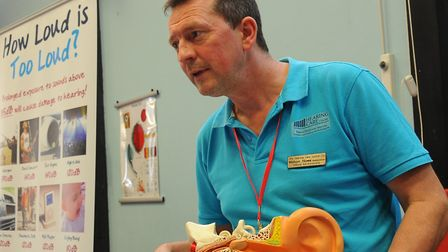 Melvyn Howe, lead clinical ear care practitioner at the Hearing Care Centre in Dereham. Picture: SIM
