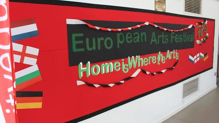 Northgate High School in Dereham is holding a weekend arts festival to celebrate the school's connec