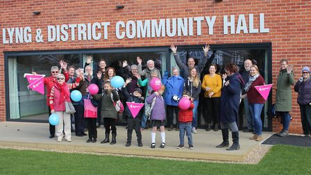 Lyng and District Community Hall has opened following a complete rebuild. Picture: JENNA YOUNGS