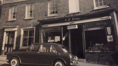 Reepham Post Office and stores in 1969 when they took over. Pictures: David Bale