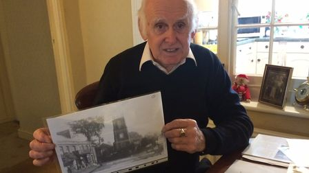Reepham Post Office and stores has been run by the Johnson family for 50 years. George Johnson with