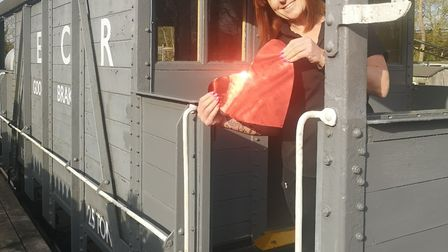 Pictured is Amanda Owen, organiser of A Night of Speed Dating & Other Debauchery and team member at