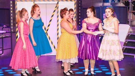 A scene from the Dereham Operatic Society Youth Theatre Company (DOSYTCo) production of Return to