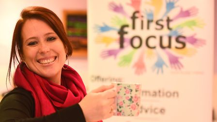 April Simnor, from First Focus in Fakenham is delighted after the charity secured a new partnership