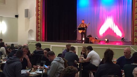 Live music is one of the attractions at the Dereham Gin and Rum Festival. Pictures: supplied by Stua