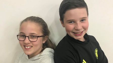 The Potts children, Jeremy and Jemima, are being played by Molly Freestone (left) and Teejay Standin