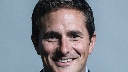 Johnny Mercer, MP, who says he has withdrawn his support for Theresa May and her government over the