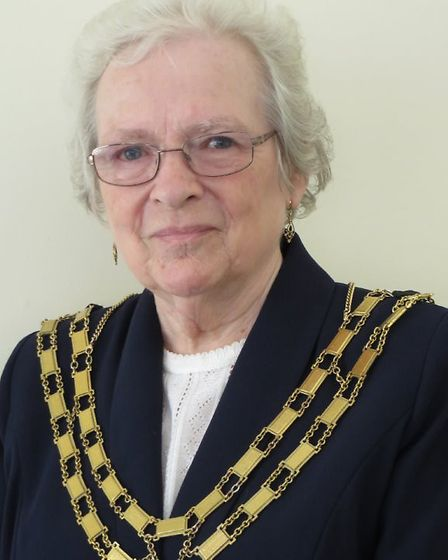 Dereham mayor Hilary Bushell, who is backing MP Johnny Mercer's stance. Picture: DEREHAM TOWN COUNCI