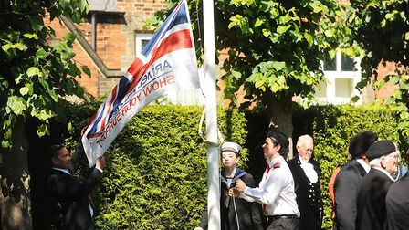 The Armed Forces Day flag. Dereham Town Council will consider flying the flag every day until the Go