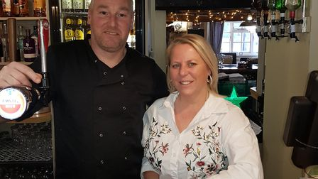 Victoria Hunt, 45, and Gavin Hunt, 42, owners of The Fox at Lyng have been shortlisted for a nationa