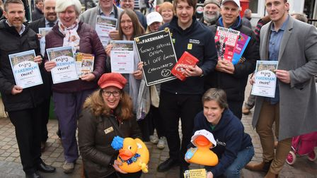 Active Fakenham, and the Eastern Daily Press team up together to launch the Enjoy Fakenham More proj