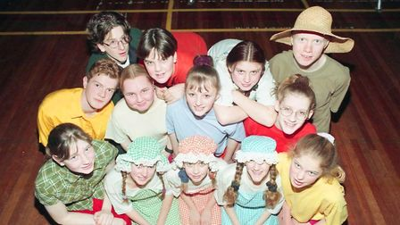 Fakenham Youth Theatre Group's Wizard of OZ production 17.2.97. Picture: Archant