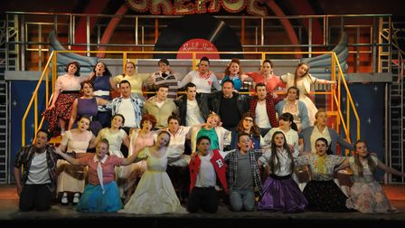 Fakenham and District Light Operatic Society perform Grease. Picture: Archant