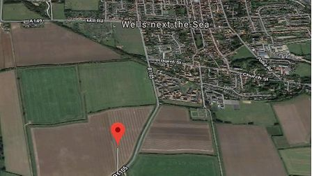 Crash coming out of Wells. Picture: Google Maps
