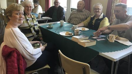 Caring Friends for Cancer hold a coffee morning for some of its clients. Picture: CARING FRIENDS