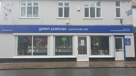 Green Pastures Community Hub has now opened on Norwich Street in Dereham. Picture: Anita Clarke