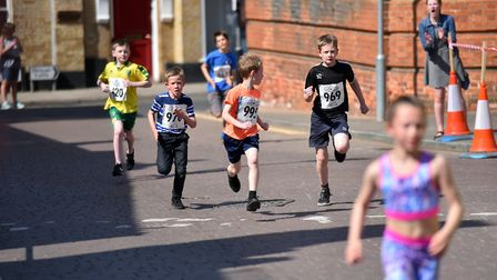 Action from the Fakenham Easter Sunday Fun Day. PICTURE: Jamie Honeywood