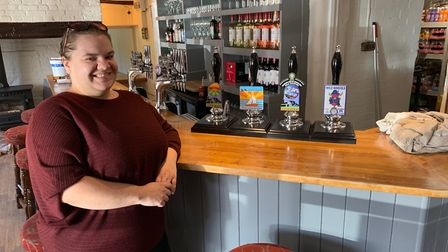 Becca Musgrave, manager of the Beeston Ploughsare, which has just reopened. Picture: STUART ANDERSON