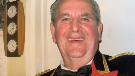 Raymond Barnes, a long time member of Dereham Band. Picture: COURTESY OF DEREHAM BAND