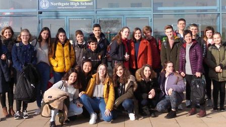 Spanish exchange at Northgate High School. Picture: NORTHGATE