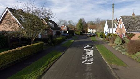Cathedral Drive in North Elmham. Photo: Google