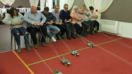 Rotary Club of Fakenham & District celebrates 60 years as a club. A charity race night. Picture: ROT