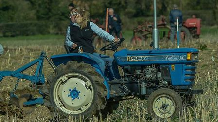 The Vintage Horticultural and Garden Machinery Working Day in Stanfield saw exhibitors come from aro